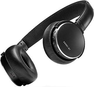 Status Audio BT One Wireless On-Ear Headphones - Bluetooth 5.0. + aptX, 30 Hours of Battery, USB-C + Quick Charge, Award Winning Sound + Minimalist Metal Design, Matte Finish (JetBlack)