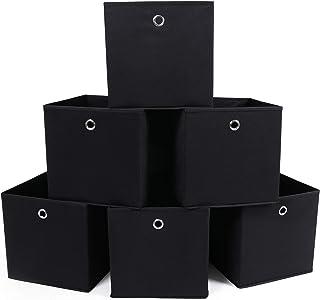 SONGMICS RFB02H-3 - Organizadores Plegables, 6 Piezas, con