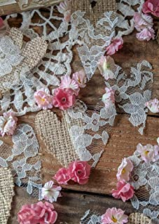 Rustic Baby Shower Decorations For Girl, Rustic Wedding Decor,Burlap Table Confetti, Dessert Table Display, Cake Table, Artificial Baby's Breath, Rustic Party Supplies