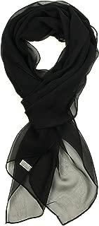Best black chiffon scarf Reviews