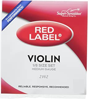 Super Sensitive Violin Strings (2102)