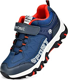 Boys Sneakers Waterproof Kids Tennis Running Hiking Shoes