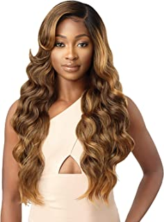 Outre Melted Hairline Lace Front Wig Frontal Effect Hairline Deluxe Wide Lace Part 2x5 HD Transparent ARIES (DR2/CINSP)
