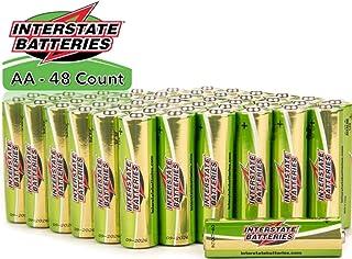Interstate Batteries AA Alkaline Battery 48 Pack - Workaholic (DRY7000)