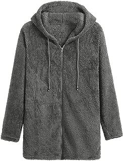 Ostrich Fleece Jacket Women's Autumn Winter Warm Zipper Coat Female Winter Women's Jacket
