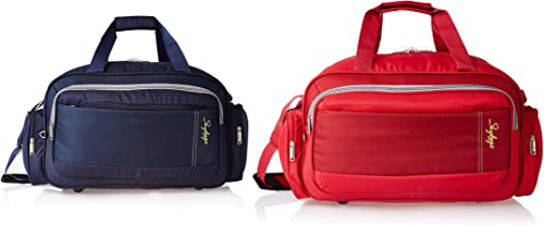Cardiff Polyester 55 Cms Blue Travel Duffle Cardiff Polyester 55 Cms Red Travel Duffle DFCAR55BLU DFCAR55RED