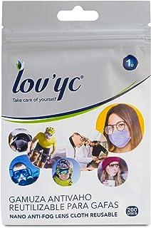 PARAFARM LOV YC Gamuza ANTIVAHO Reutilizable para Gafas 1 U,