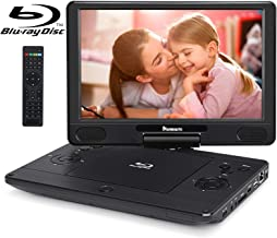 NAVISKAUTO 12 inch Portable Blu Ray DVD Player Support HDMI Out MP4 1080P Dolby Audio Sync Screen