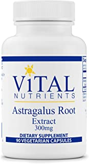 Vital Nutrients - Astragalus Root Extract - Vegan Formula - Herbal Support for The Immune System - 90 Vegetarian Capsules ...