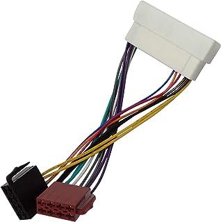 Aerzetix ISO Konverter Adapter Kabel Radioadapter Radio Stecker ISO Kabel Verbindungskabel C40117