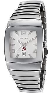 Rado R13690102 Men's Sintra Automatic Silver-Tone Ceramic & Dial Silver-Tone Ceramic Watch