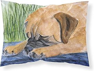 Caroline's Treasures SS8033PILLOWCASE Bullmastiff Moisture Wicking Fabric Standard Pillowcase, Large, Multicolor