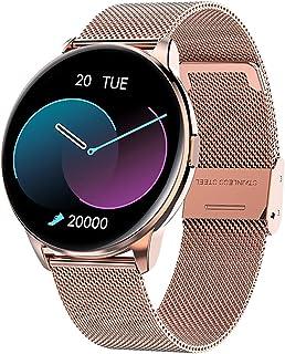 2021 Full Touch Smart Watch Vrouwen IP68 Waterdichte Armband ECG Hartslag Monitor Slaap Monitoring Sport Smartwatch Voor D...