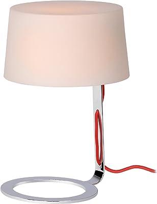 Lucide 70568/33/61 Aiko Lampe de Table Verre Blanc 22 x 33 cm