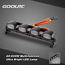 KKmoon Multi-função AX-505W Ultra LED Lâmpada Luz brilhante por 1/8 1/10 Traxxas TAMIYA CC01 4WD Axial SCX10 Monster Truck...
