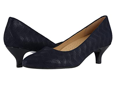 Trotters Kiera (Navy Waves) Women