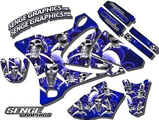 2000-2007 TTR 125, Jester Blue Base kit, Senge Graphics, Compatible with Yamaha