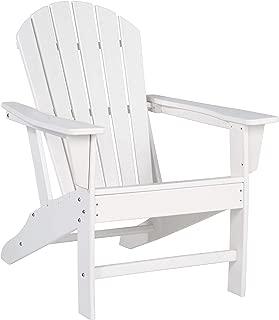 Signature Design by Ashley P011-898 Sundown Treasure Adirondack Chair, White