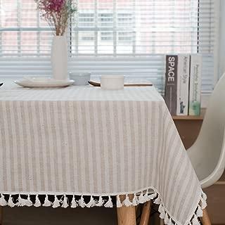 Meiosuns Mantel a Rayas Mantel a Rayas Mantel de algodón