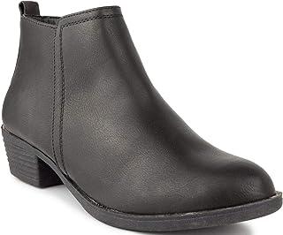 Sugar Women's Trixy Ankle Boot Black 6.5