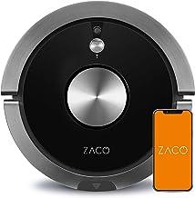 ZACO A9s-Robot 3 en 1 de aspiración y fregado, navegación inteligente PanoView, sistema de notificaciones servicio de voz ...