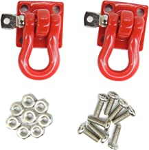 Boliduo 1:10 RC Rock Crawler Tow Hook Trailer Buckle for Axial SCX10 90046 90047 RC4WD D90 D110 TF2 Tamiya CC01 RC Climbing Car