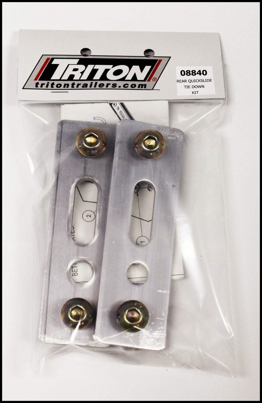 Includes 8 Tie Downs Triton 10809 Combo Companion Kit