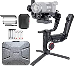 Zhiyun Crane 3 LAB 3LAB 3-axis Handheld Gimbal DSLR Camera Stabilizer for Sony A7M3 A7R3,Canon 1DX II 6D 5D IV,Panasonic GH4 GH5 GH5S,Nikon D850, Versatile Structure,ViaTouch Control,Payload 4.6 kg