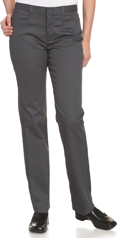 Dickies Juniors Flare Bottom Pant, Charcoal, 11