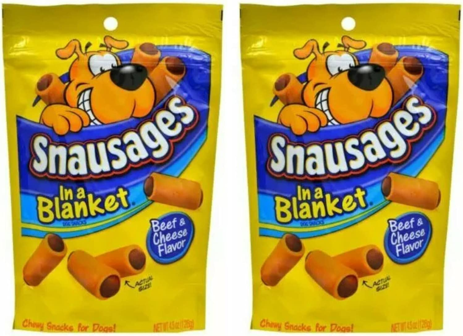 wholesale Snausages Dog Snacks - Ranking TOP15 Beef Cheese 4.5 Net Flavor 128 oz Wt