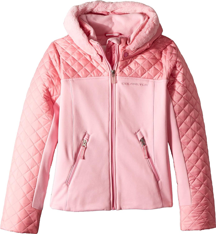 Obermeyer Kids Girl's Polonaise Hybrid Jacket (Toddler/Little Kids/Big Kids) Sugar Berry 2T Toddler