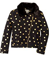 Kate Spade New York Kids - Dot Moto Jacket (Little Kids/Big Kids)