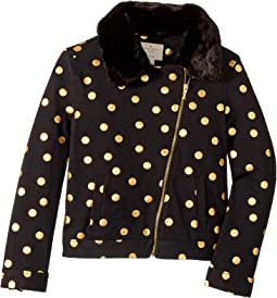 Dot Moto Jacket (Little Kids/Big Kids)