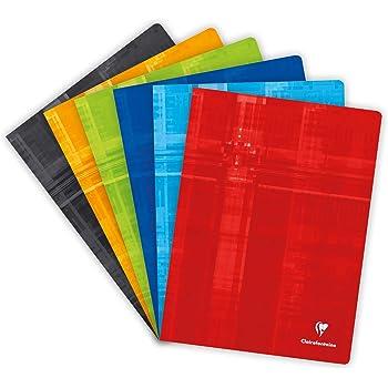 120/Seiten 24/x/32/cm Clairefontaine Metric 3372C Heft farblich sortiert 1 St/ück kariert