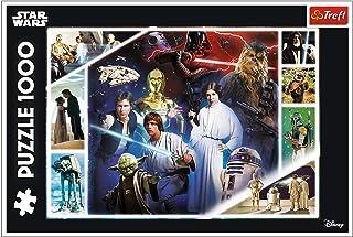 Trefl, Puzzle Galaxie lointaine 1000 pièces Star Wars pour Enfants à partir de 12 Ans