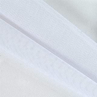 Power Stretch Mesh White, Fabric by the Yard