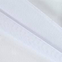 Ben Textiles Power Mesh White Fabric By The Yard