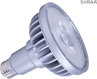 Case of 12 75W Equal Satco S9426 13-Watt 3000K PAR30LN Dimmable Long Neck LED Lamp