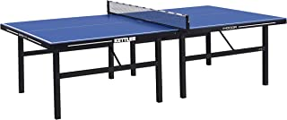 Kettler Tournament Indoor 11 Table Tennis Table. Includes Deluxe Clip-On Net, Post and 4-Player Racket and Ball Set