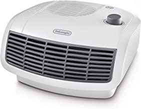 De'Longhi HTF3020 Calefactor termoventilador, habitaciones de hasta 60 m³, termostato regulable y de seguridad, 2000 W, Pl...