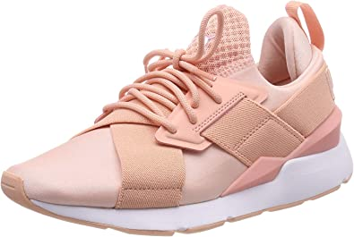 Amazon.com | PUMA Women's Muse Satin EP WN's Low-Top Sneakers ...