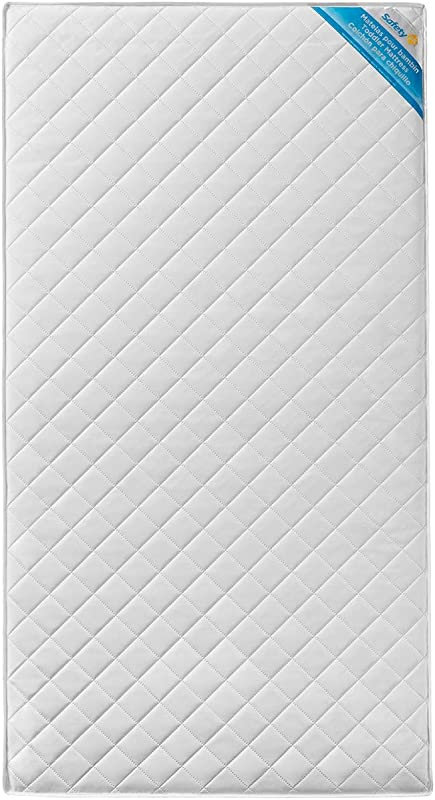 Safety 1st Transitions Baby And Toddler Mattress White
