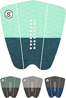 SYMPL Surfboard Traction Pad • 3 Pieces • Maximum Grip, 3M Adhesive for Surfboard, Skimboard, Longboard •