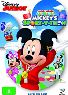 Mickey Mouse Clubhouse: Mickey's Sport-Y-Thon (DVD)