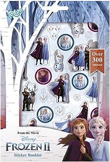 Frozen II 680708 La Reine des Neiges II Livre d'autocollants avec plus de 300 autocollants magiques Anna & Elsa pour scrap...