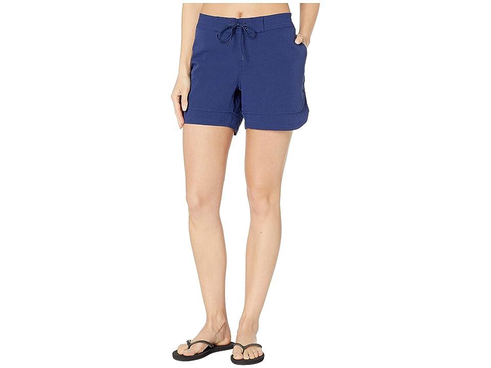 Prana Ebelie Boardshorts (Blue Anchor) Women