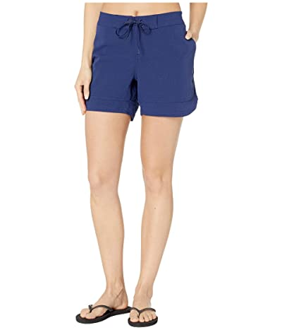 Prana Ebelie Boardshorts (Blue Anchor) Women