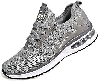 TQGOLD Air Cushion Sneaker pour Hommes et Femmes Chaussure de Marche Athlétique Respirante pour Sport Gym Training Jogging