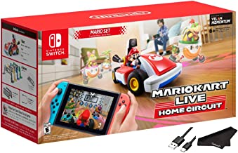 Newest Nintendo Mario Kart Live: Home Circuit - Mario Set Edition - RED - Family Holiday Gaming for Nintendo Switch or Nin...