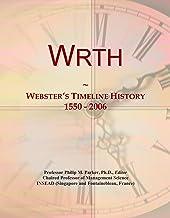 Wrth: Webster's Timeline History, 1550 - 2006
